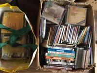 Job lot cds albums singles some dvds £35