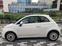 FIAT 500 0.9 TWINAIR PETROL LOUNGEGLASS ROOF FULL SERVICE HISTORY PX WELCOMED