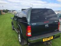 Toyota hilux invincible 3ltr d4d 61reg fsh all main dealer double cab pick up 4wd no vat