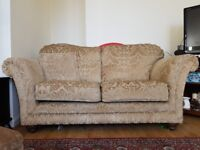 Beige sofa set for sale
