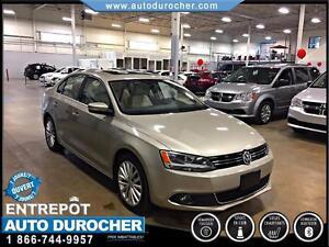 2012 Volkswagen Jetta Sedan Highline TOUT ÉQUIPÉ CUIR TOIT OUVRA