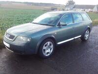2002 Audi A6 C5 Allroad 2.5 TDI Quattro Avant Estate Green BREAKING FOR PARTS SPARES