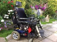 Wheelchair BEATLE powered, multi position