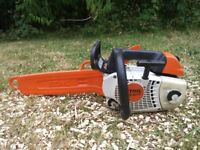 stihl ms 201t top handle chainsaw