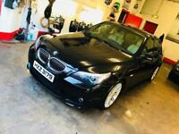 MARCH 2007 BMW 525D M-SPORT MANUAL FULL SERVICE HISTORY LONG MOT EXCELLENT CONDITION