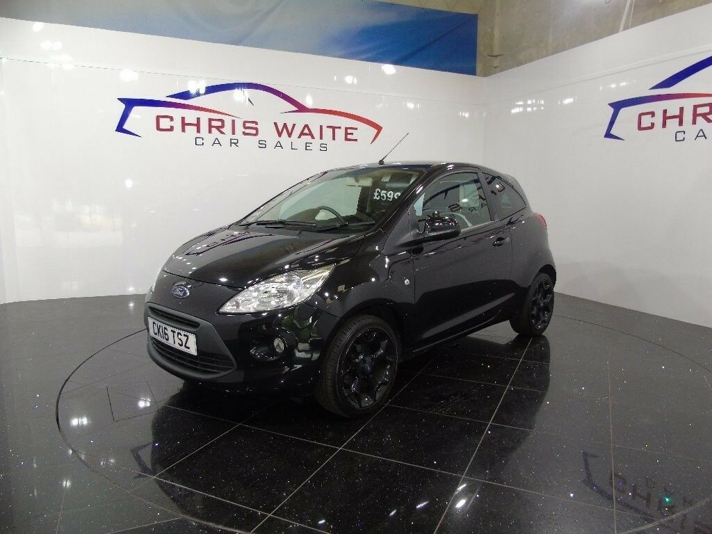Ford Ka Zetec Black Edition Black