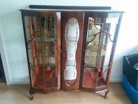 China Display Cabinet Glass