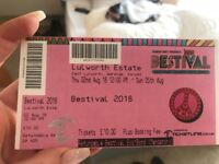 Bestival Adult weekend camping Ticket - with parking and eco bond!
