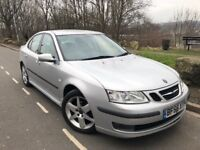 2006 56 SAAB 9-3 VECTOR SPORT 1.9 TID 6 SPEED SALOON # LEATHER # P/SENSORS # 2 OWNERS # FSH