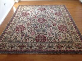 Rug - classic Wilton wool, traditional pattern