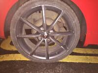 2 sets of 4 alloys for sale