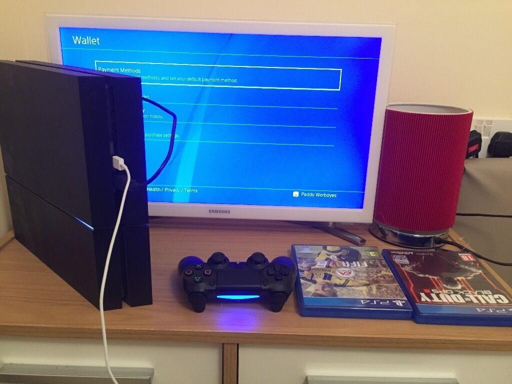 £240 PlayStation 4 1TB plus FIFA 17, FIFA 16 & COD Black Ops 3