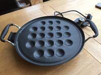 Dutch mini pancake maker poffertjes blinis