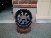 2 Wagon Wheel Ford/Dodge Rims