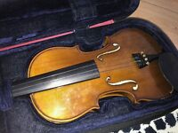 Full Size Violin Packed in Violin Bag