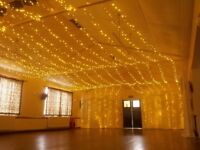 Party and Wedding Light Hire - Fairy Lights / Festoon Lights