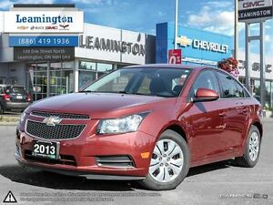 2013 Chevrolet Cruze LT TURBO FWD 4 CYLINDER CALL TODAY FOR A TE