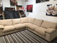 New Large Corner Sofa extremely comfy all removable covers
