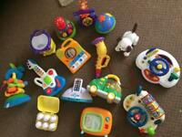 Variety of baby toys - Any 3 for £10