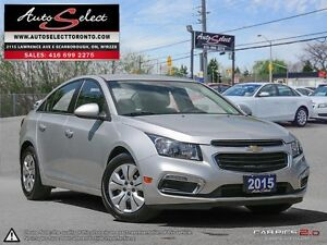 2015 Chevrolet Cruze ONLY 20K! **LED LIGHTS PKG** CLEAN CARPROOF
