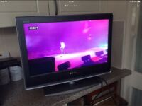 """Sony Bravia 26"""" LCD HD tv with freeview"""