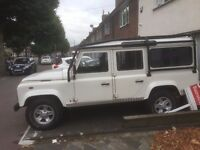 Urgent Land Rover Defender 110-Left-hand Drive, A/C, Diesel, 4x4, 6-Speed, April 2010