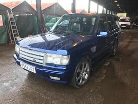 1996 Range Rover Landrover p38 2.5 diesel 4x4 px welcome