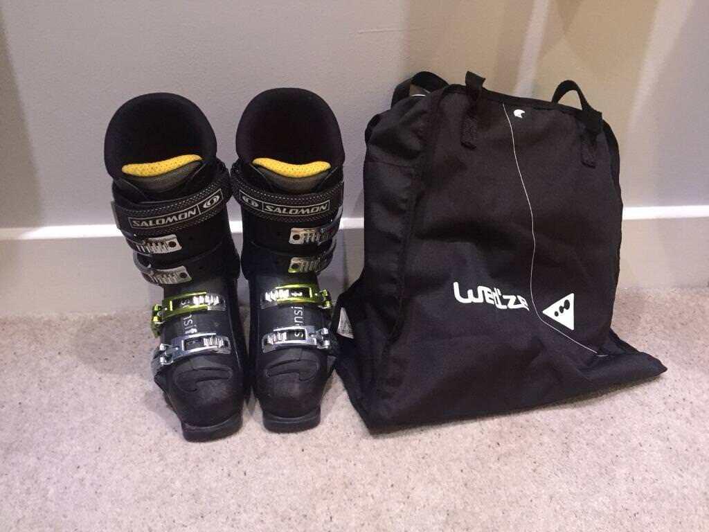 begehrte Auswahl an neue Season attraktive Designs Salomon X Wave 9.0 Ski Boots and Bag | in Selby, North Yorkshire | Gumtree