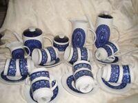 38 Piece Royal Doulton Babylon Tea & Coffee set pattern TC1101