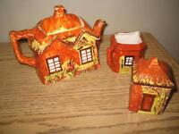Price Kenninsington England cottageware teapot cream sugar