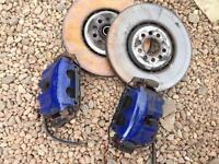 Volkswagen Golf MK4 R32 front brake setup BORA Fabia VRS Leon TT