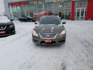 2015 Nissan Sentra SV AUTO 1 OWNER LOCAL TRADE