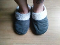 Trashed slippers size 5