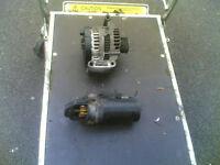 transit 2.4 tdci 2009 starter and alternator