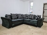 SHANNON CORNER OR 3+2 SEATER SOFA SET AVAILABLE IN STOCK