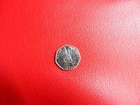 Beatrix Potter Peter Rabbit 2016 50p coin - Rare, Circulated, excellent condition
