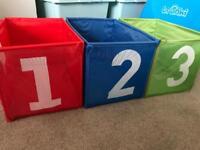 Ikea 123 storage boxes