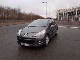 2012 PEUGEOT 207 1.4 *** LOW MILES ONLY 47K ***