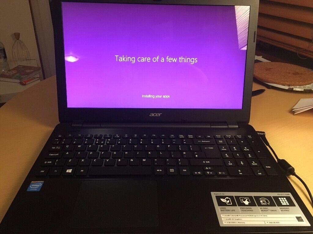 """AS NEW Ex-Display ACER ASPIRE E15 500Gb, Intel Processor, 15.6"""" - £389 New"""