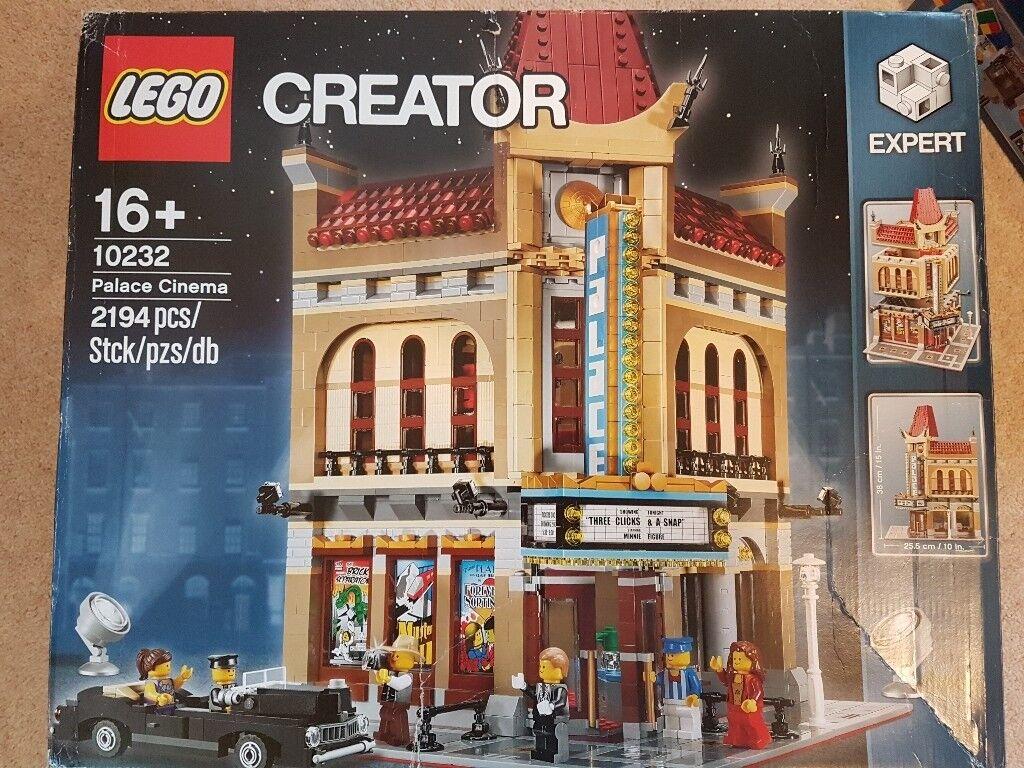 Lego Creator Modular Building Palace Cinema 10232 Complete