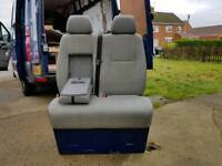 VW Crafter driver and passenger seats, passenger seats include base.