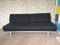 Grey Sofa Bed, Slide out double bed
