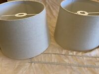4 x lampshades for a sale excellent condition