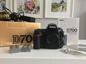 Nikon D700 DSLR camera - boxed with accessories - BODY ONLY