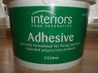 Polystyrene adhesive