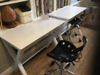Children's Writing Desk and Swivel Chair x 2 of each