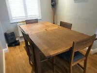 Laura Ashley dining table and chairs