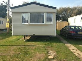 Static Gold Rated 6 Berth Caravan Available for Holiday Lets on Solent Breezes from 3 to 14 nights