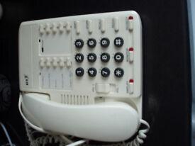 B / T WHITE TELEPHONE