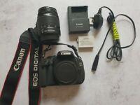 Canon EOS 600D (Rebel T3i) 18.0MP Digital DSLR Camera - with EF-S 18-55mm Lens